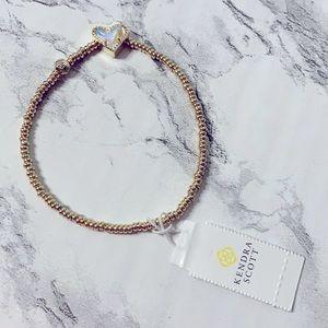 Kendra Scott Ari Heart Stretch Bracelet